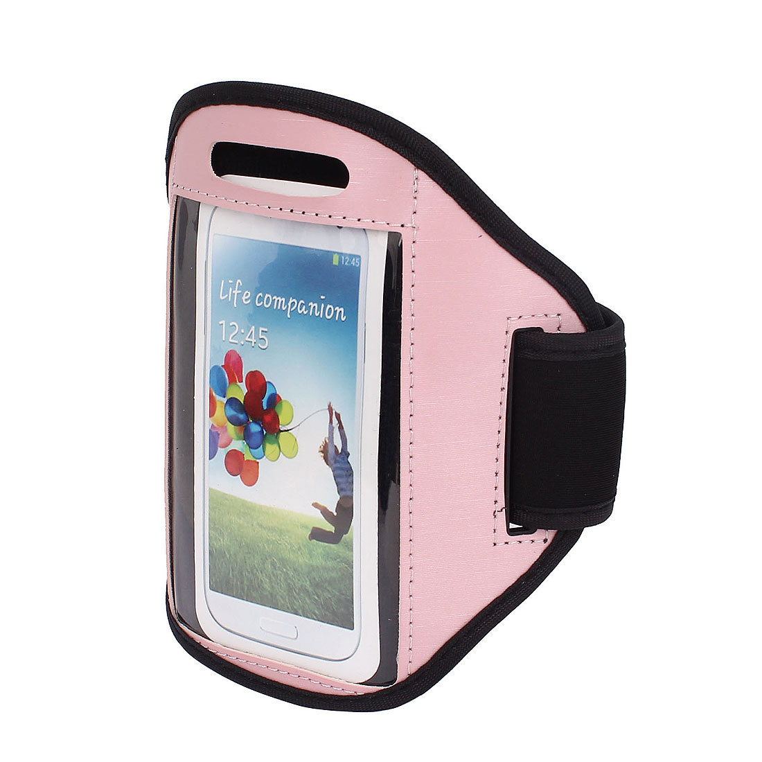 Outdoor Jogging Running Sports Armband Case Cover Pink for S3 S4 i9300 i9500