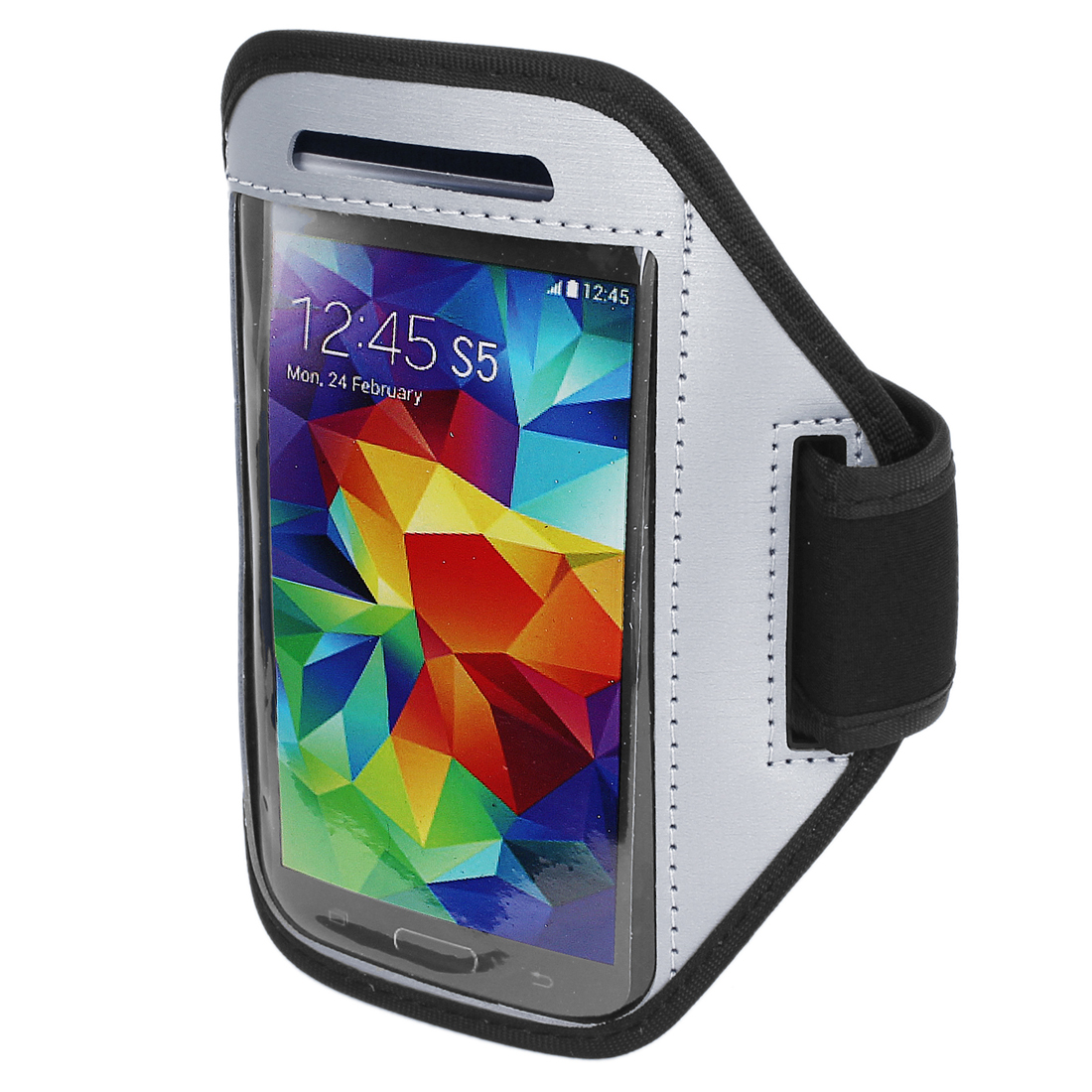 Running Jogging Sports Padded Arm Band Holder Case for S5