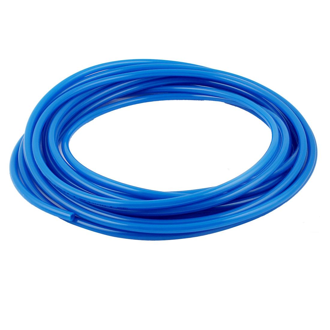 8mm x 5mm Pneumatic Air Compressor Tubing PU Hose Tube Pipe 10.3m Blue