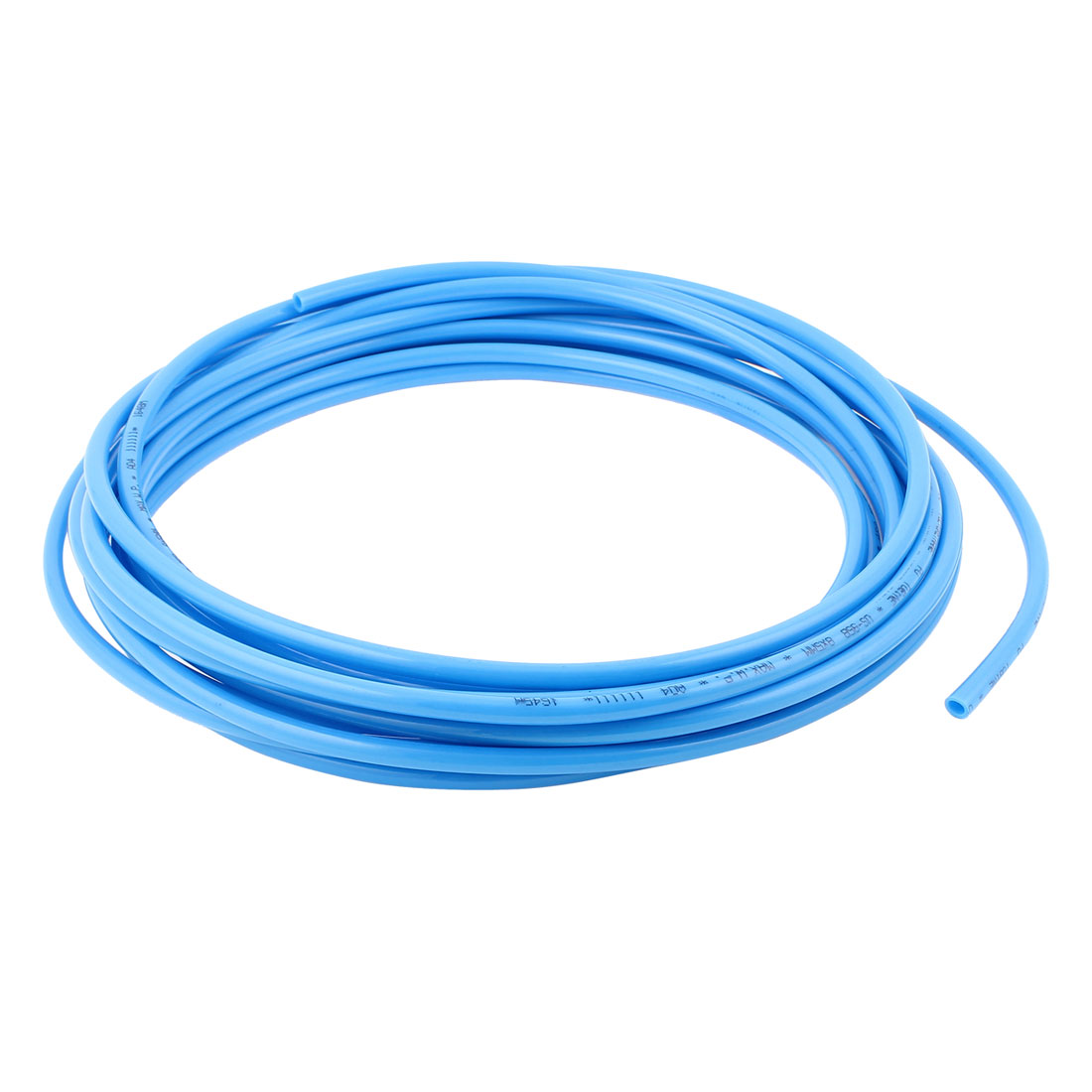 8mm x 5mm Pneumatic Air Compressor Tubing PU Hose Tube Pipe 10m Blue