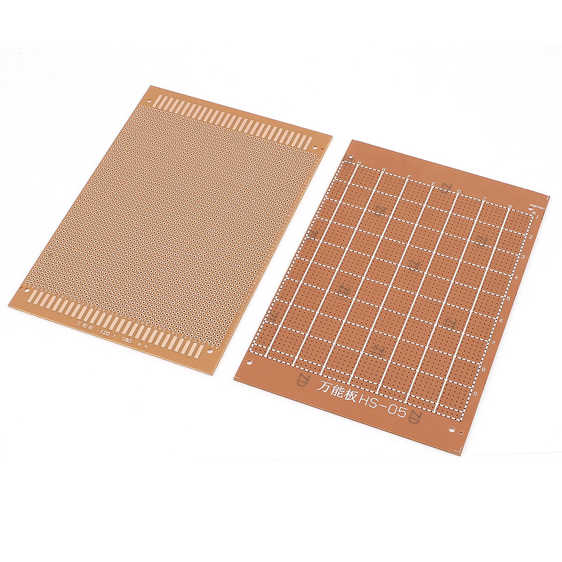 2pcs PCB Printed Circuit Board Prototype Breadboard Stripboard 18cm x 12cm