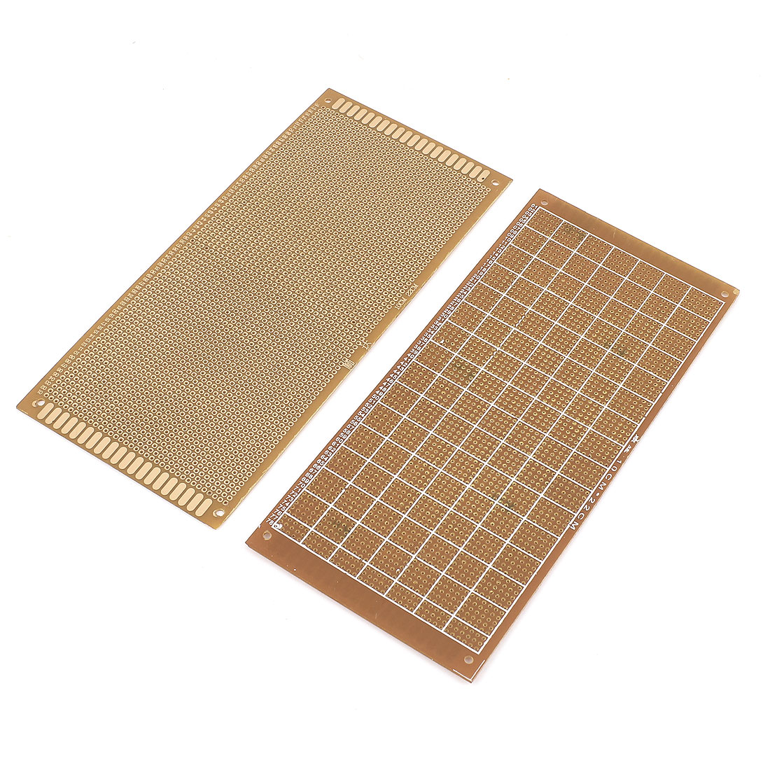 2pcs Single-sided PCB Printed Circuit Board Prototype Breadboard 22cm x 10cm