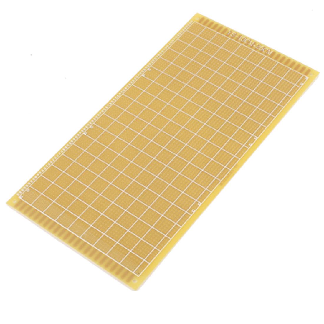 Single-sided PCB Printed Circuit Board Prototype Breadboard 25cm x 13cm