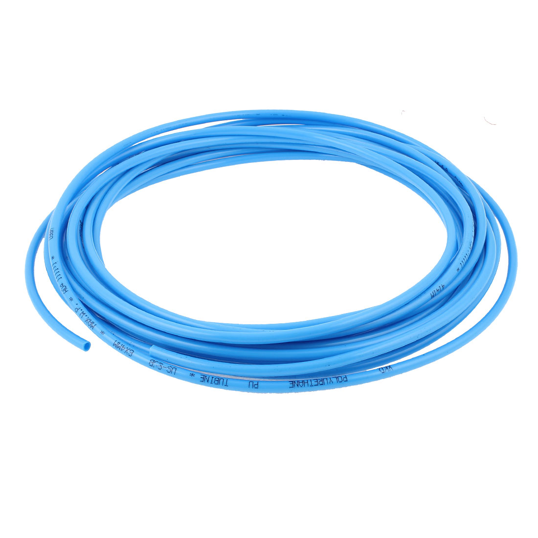 PU Flexible Compresser Pneumatic Pipe Tube Air Tubing Hose 6mm x 4mm 10M