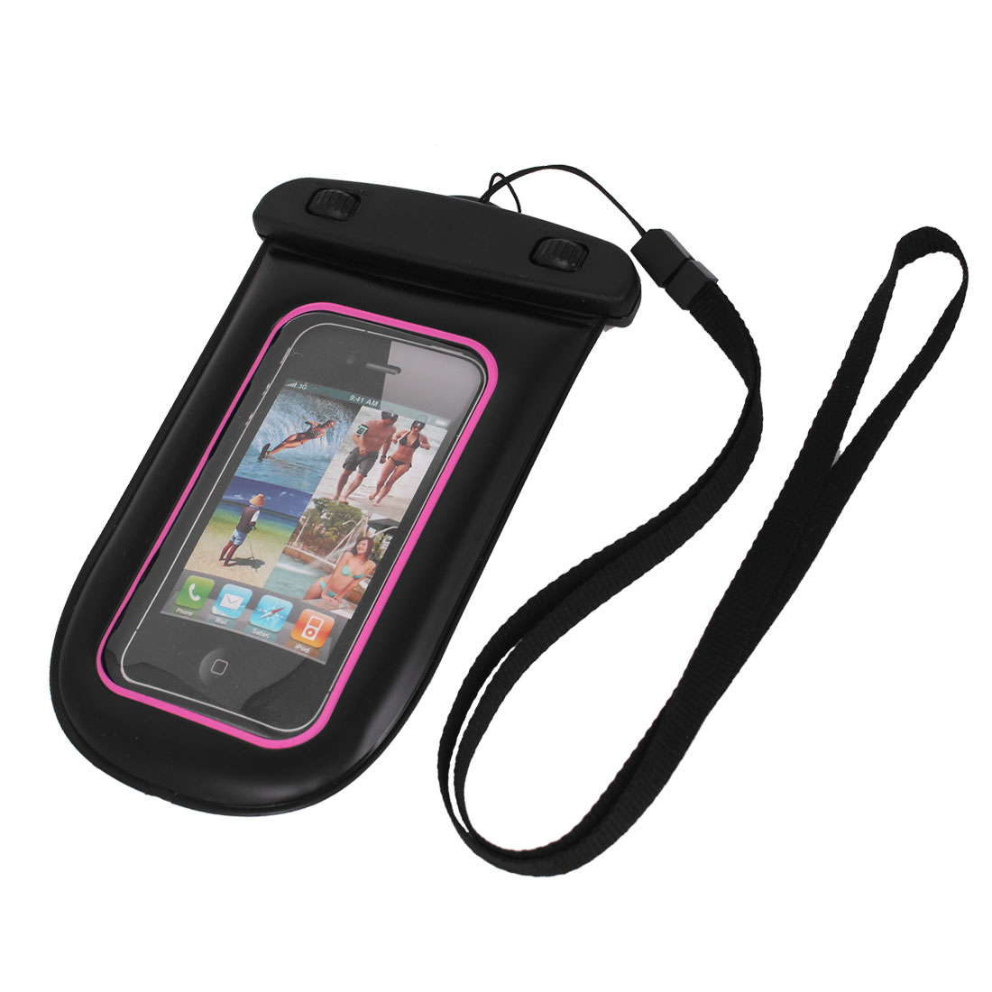 Waterproof Swimming Bag Holder for iPhone 5/5S w Neck Strap