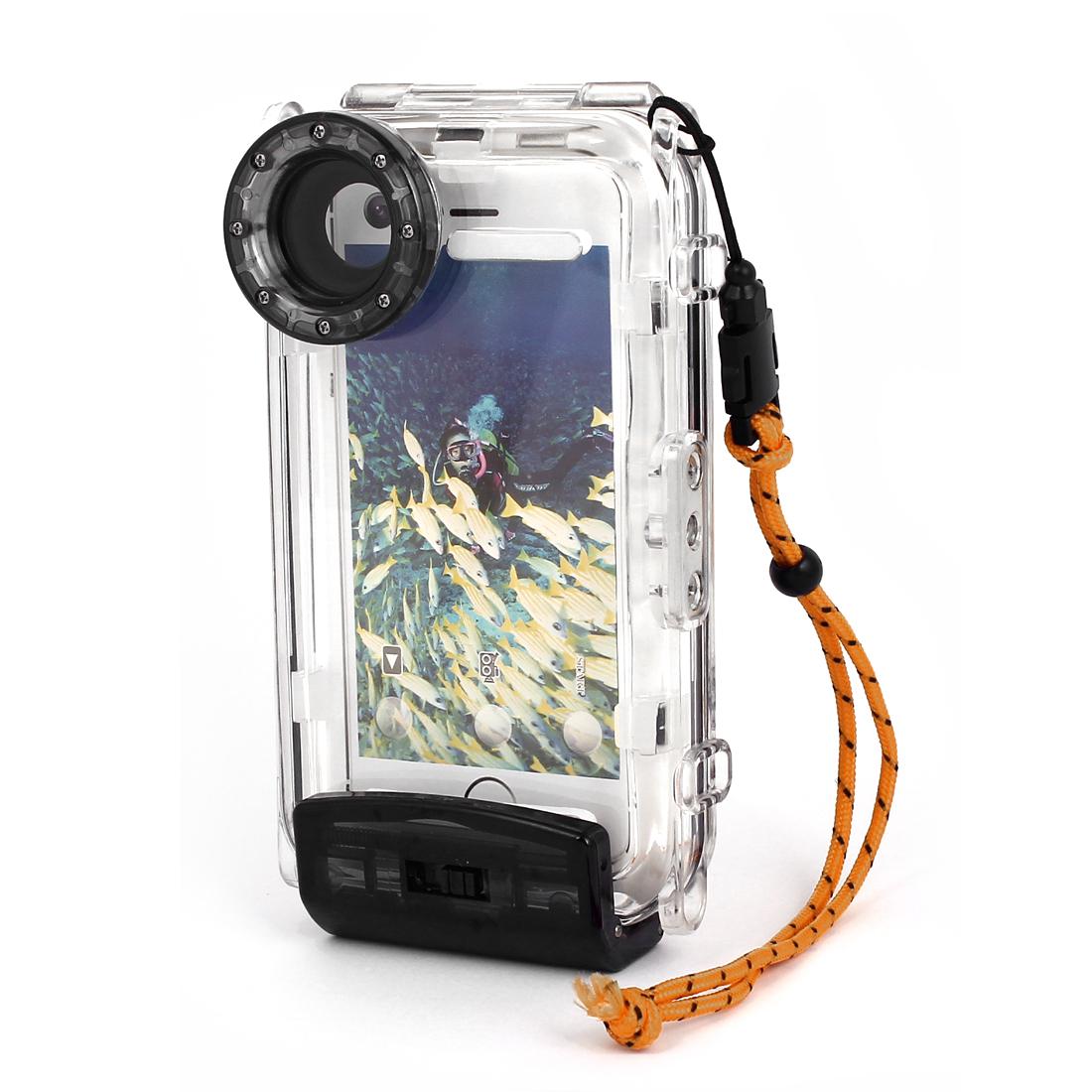 Waterproof Photo Housing Underwater Case Black for iPhone 5/5s/5c