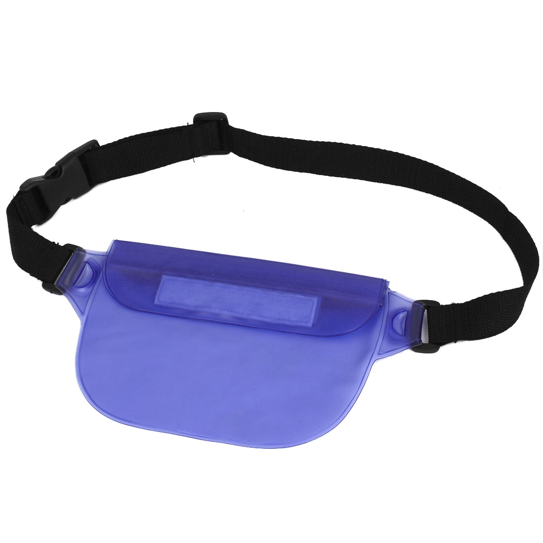 Waterproof Unisex Travel Hip Fanny Waist Bag Pack Belt Pouch Purse Blue