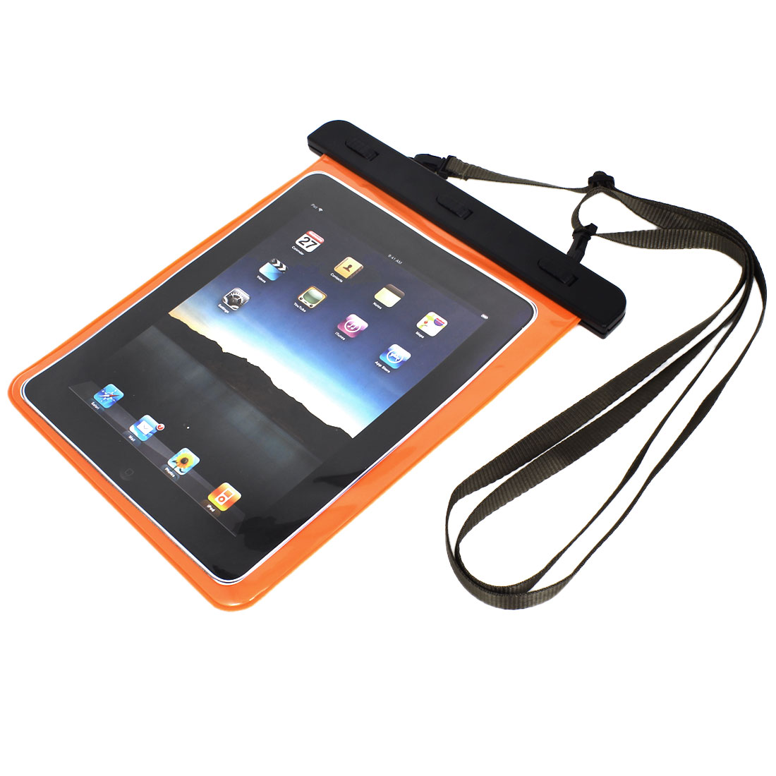 PVC Waterproof Bag Dry Pouch Skin Cover Protector Black for iPad Mini