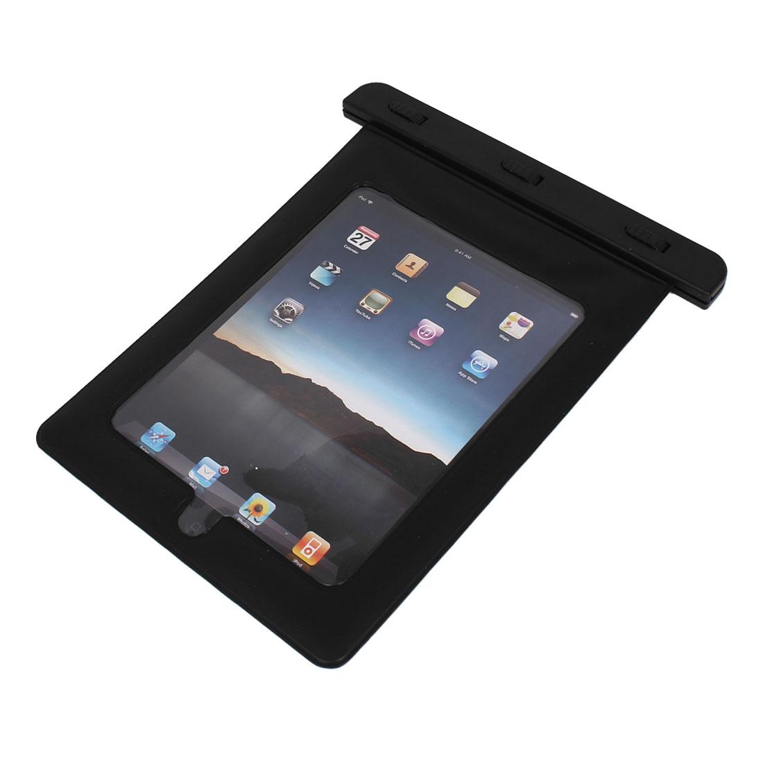 Waterproof Bag Dry Holder Protector Black for iPad Mini 1/2