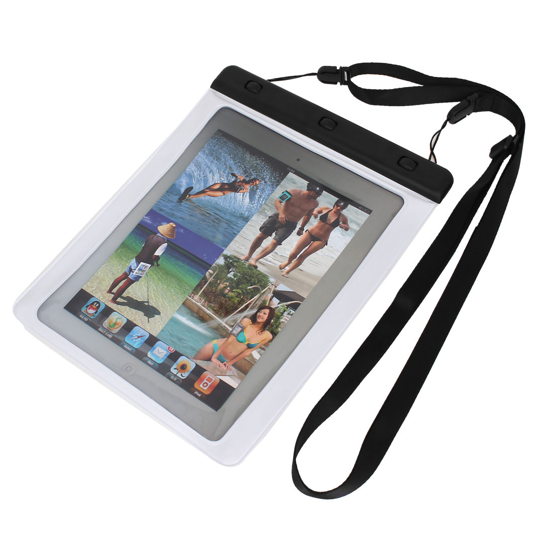 "Waterproof Sleeve Case Bag Cover White for 9.7"" 10"" 10.1"" Tablet PC PAD"