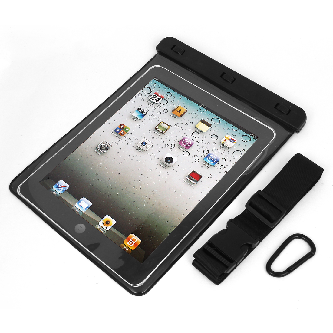 "Waterproof Sleeve Case Bag Cover Black for 9.7"" 10"" 10.1"" Tablet PC iPad PAD"