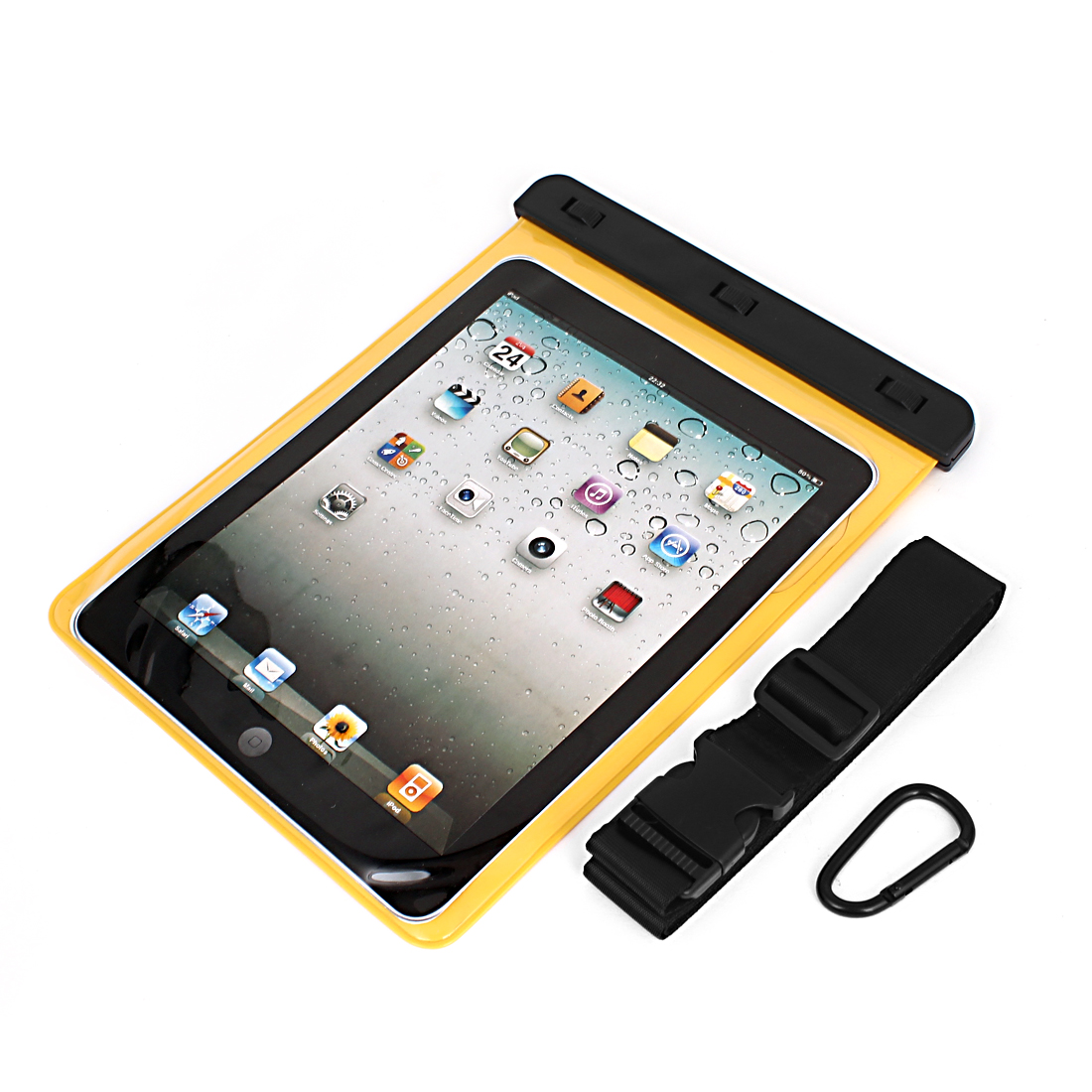 "Waterproof Sleeve Case Bag Cover Yellow for 9.7"" 10"" 10.1"" Tablet PC iPad PAD"