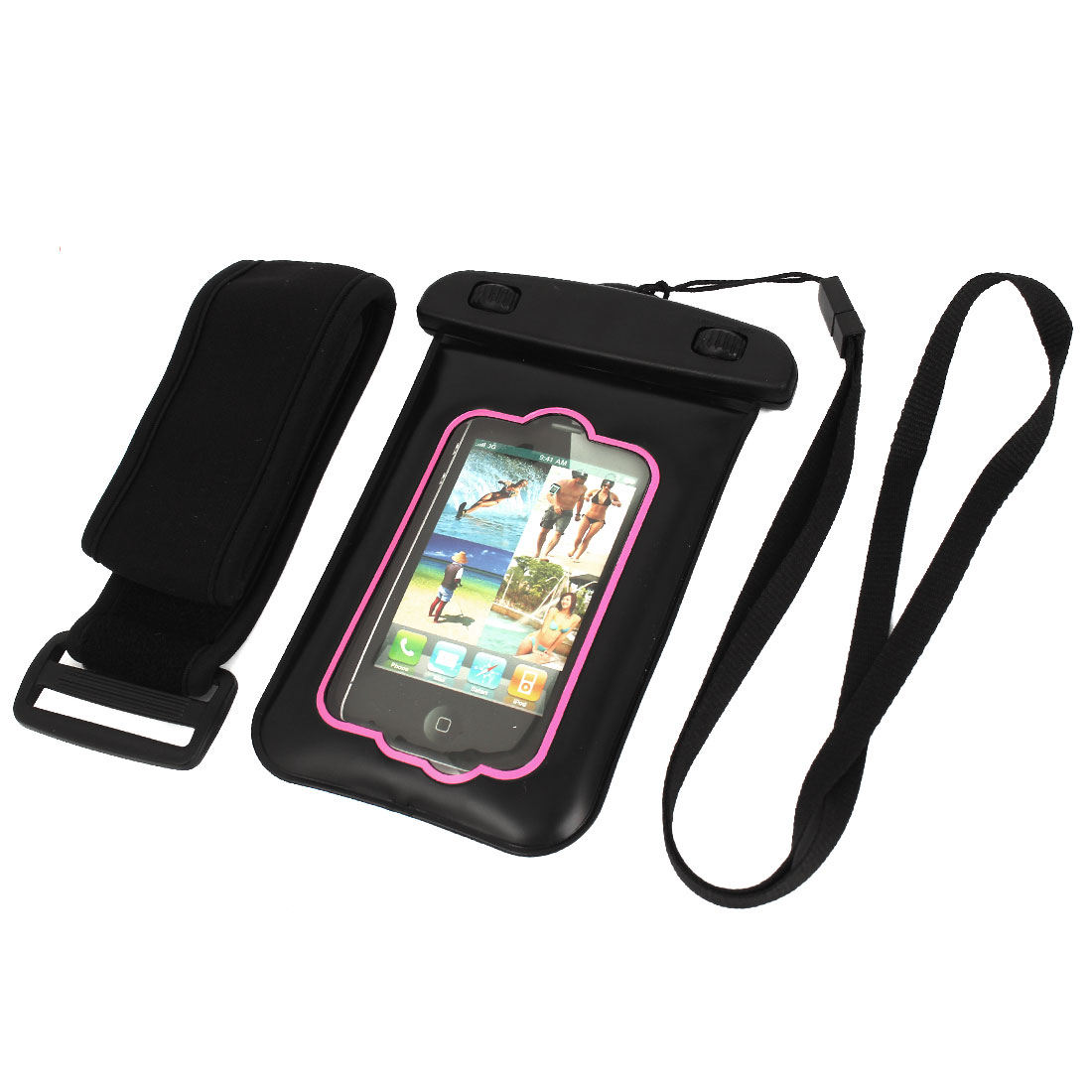 "Waterproof Case Dry Bag Skin Cover Pouch Protector for 3.5"" Mobile Phone"