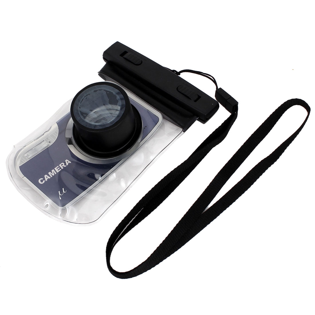 Digital Camera Underwater Waterproof Case Dry Bag for Swimming Beach Holiday