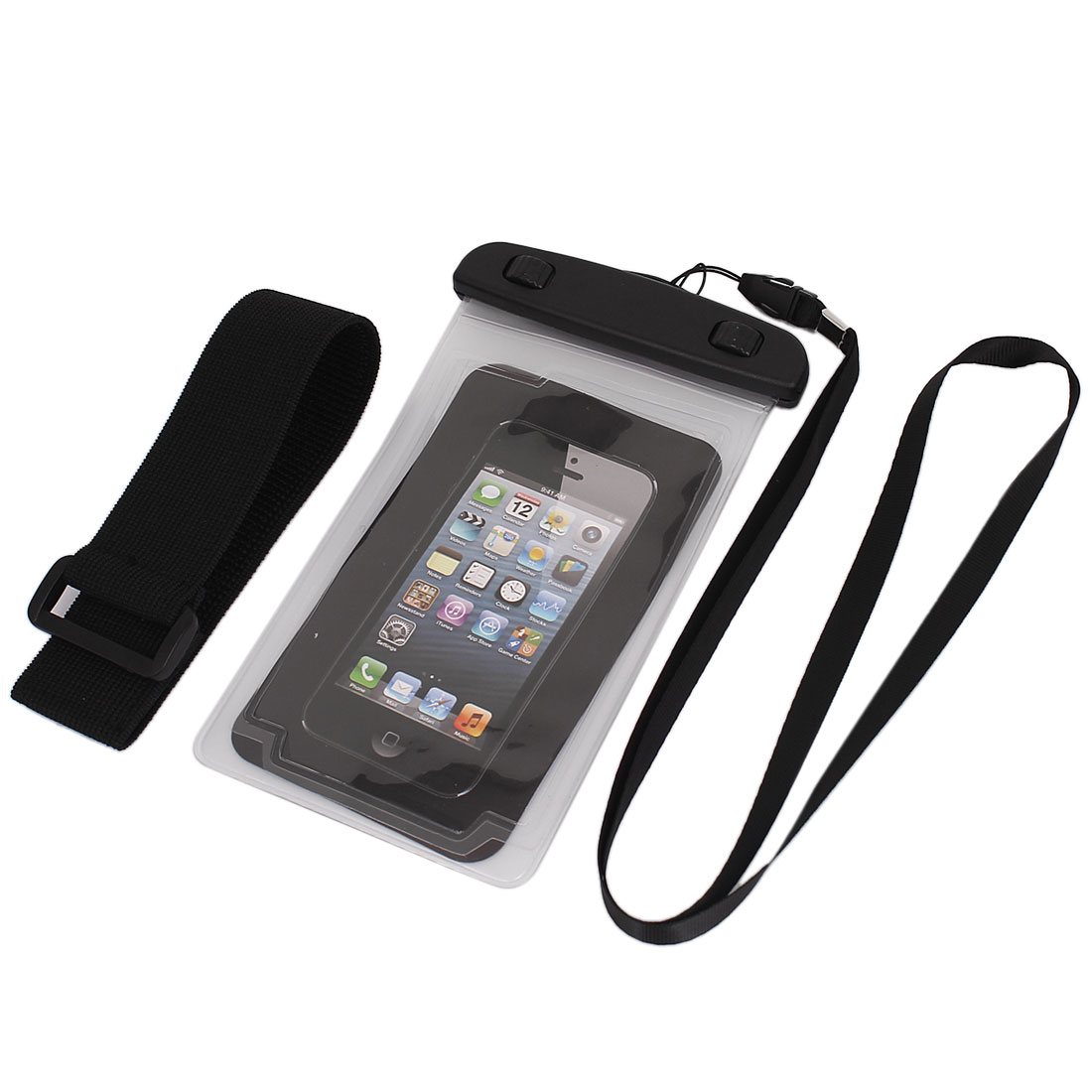 "Underwater Waterproof Case Dry Bag Cover Pouch Holder Clear for 4.7"" Cell Phone"