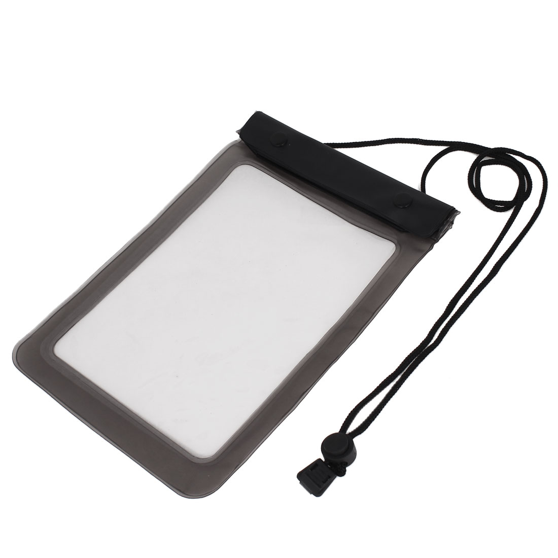 """Waterproof Pouch Bag Underwater Diving Case Cover Gray for 7"""" 7.7"""" Tablet PAD"""