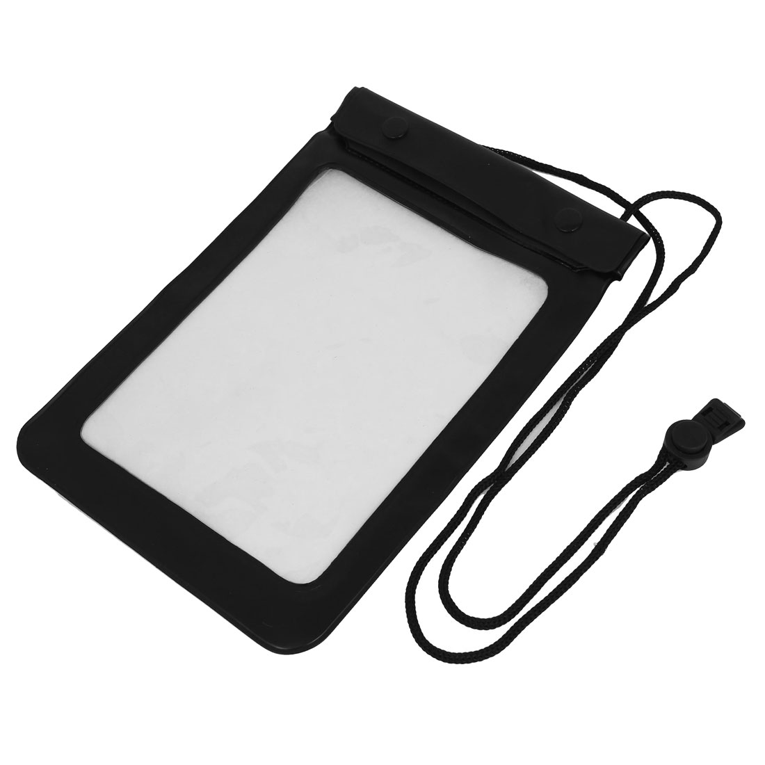 "Waterproof Pouch Bag Underwater Diving Case Cover Black for 7"" 7.7"" Tablet PAD"