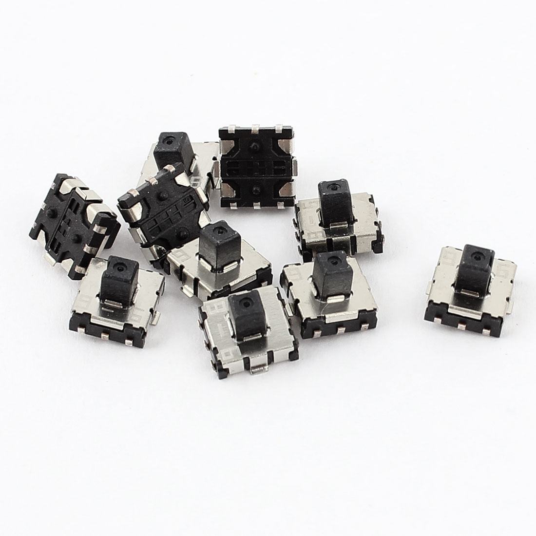 10 Pcs 6 Pin 5 Position Momentary Push Button SMD SMT Mini Tactile Switch
