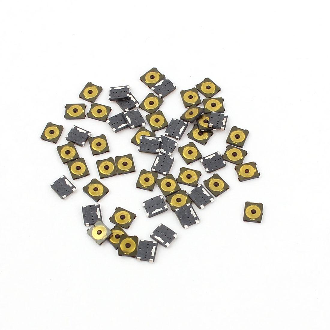 50 Pcs SMD Pushbutton Key Micro Momentary Tact Tactile Switch 3x2.6x0.65mm