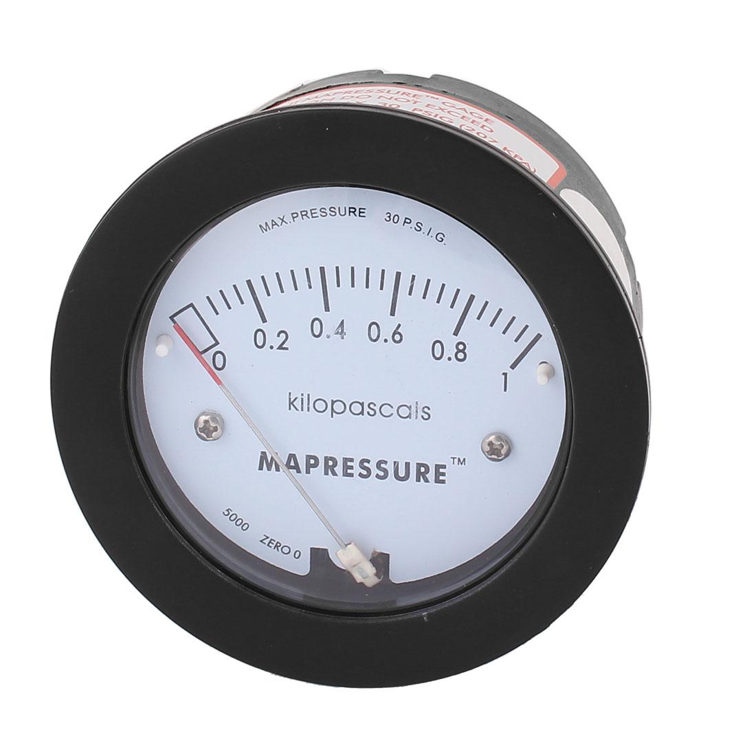 Series 5000 0-1KPa 30 PSIG Differential Pressure Gauge Meter