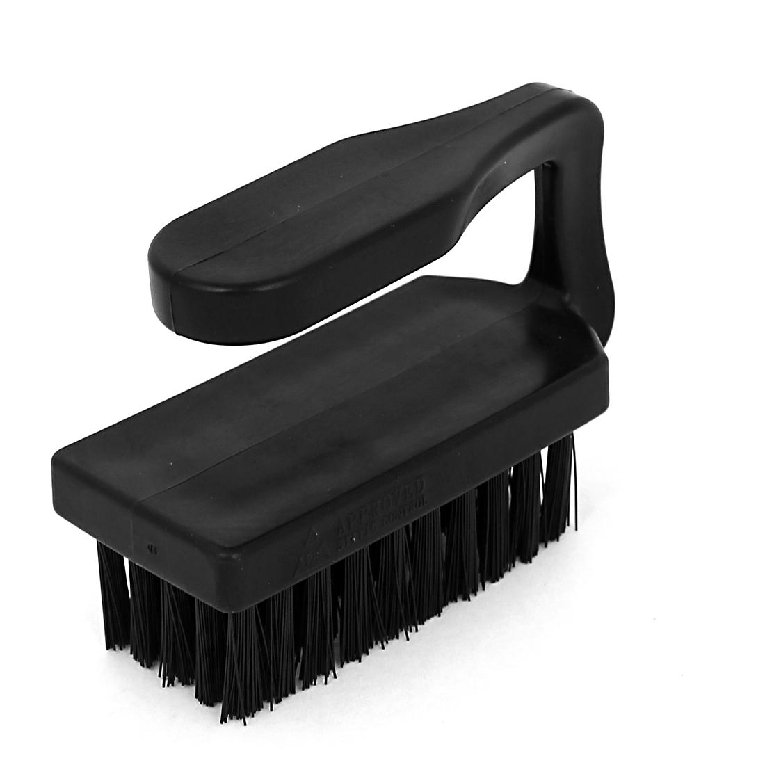 Horizontal Handle Bristle ESD Anti Static Brush PCB Cleaning Tool 9cm Long