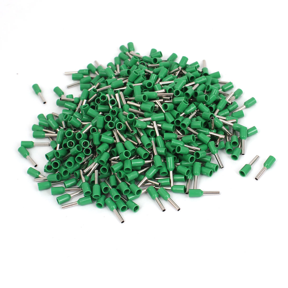 Green Cable E1008 18 AWG Pre Insulating Ferrules Connectors 495 Pcs