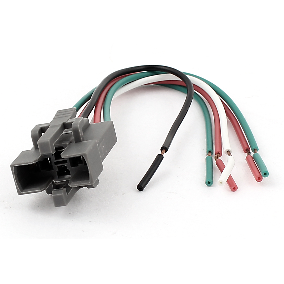 DC 12V Car Vehicle Air Conditioner 6-Wires Relay Socket Connector