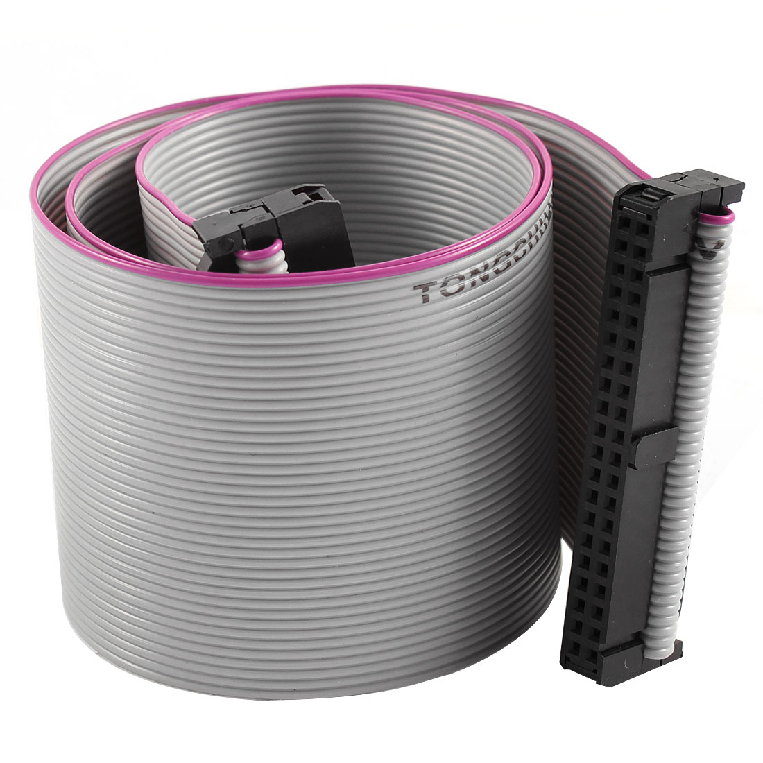 2.54mm Pitch 2x40P 40 Pin 40 Wire Female to Female IDC Flat Ribbon Cable 48cm