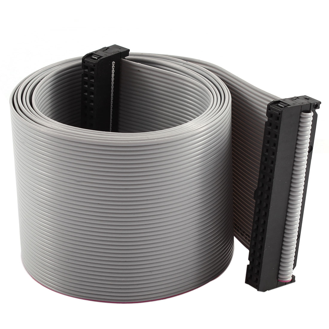2.54mm Pitch 2x40P 40 Pin 40 Wire Female to Female IDC Flat Ribbon Cable 118cm