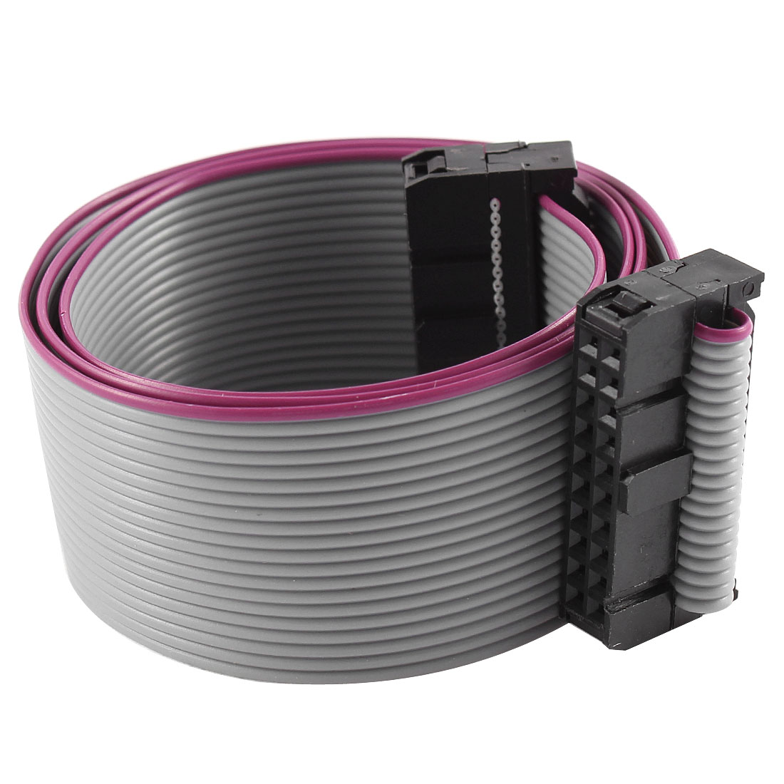 2.54mm Pitch 2x20P 20 Pin 20 Wire Female to Female IDC Flat Ribbon Cable 48cm