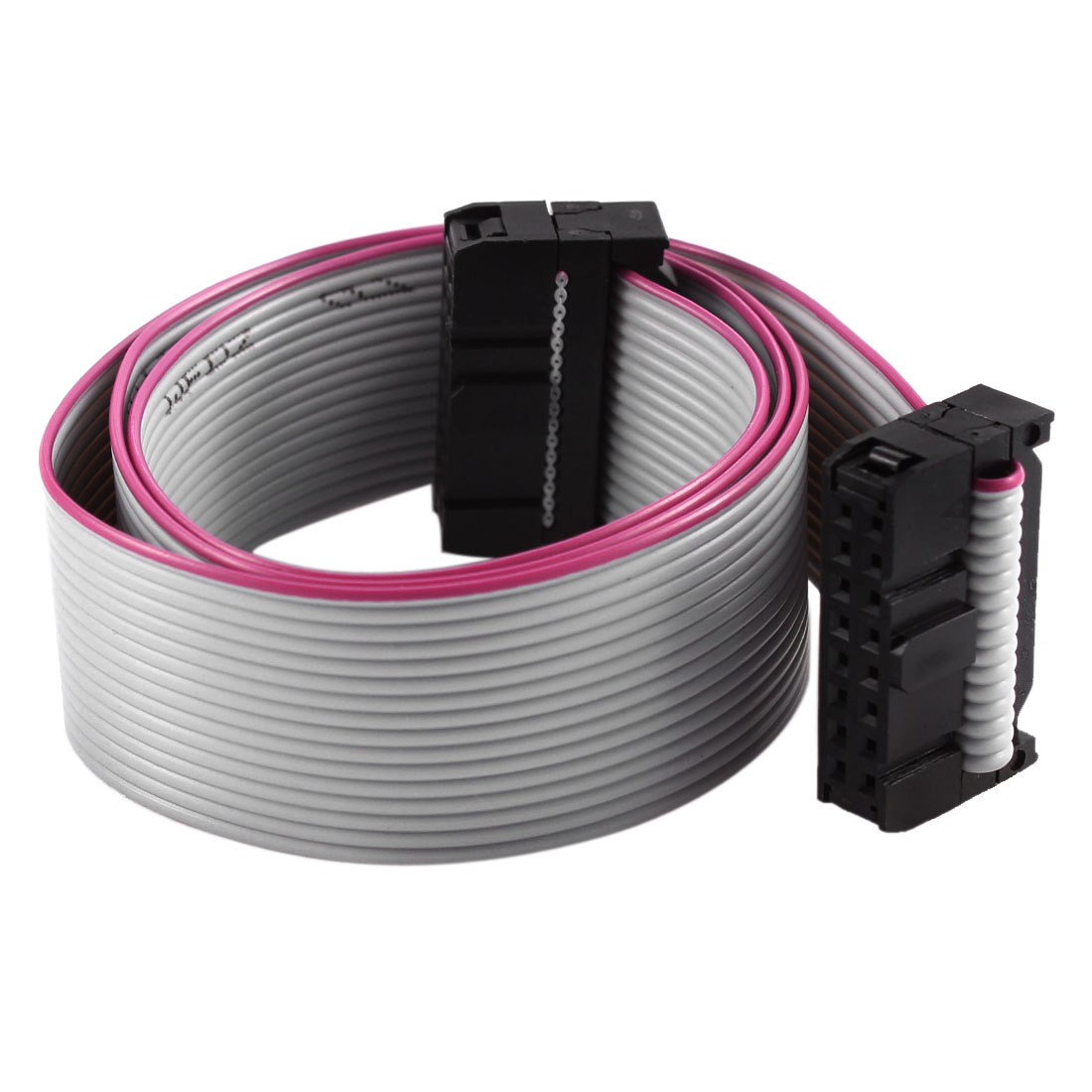 2.54mm Pitch 2x16P 16 Pin 16 Wire Female to Female IDC Flat Ribbon Cable 48cm