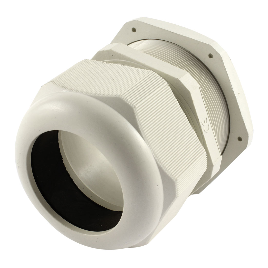 White Plastic PG63 42-50mm Wire Connector Waterproof Cable Gland