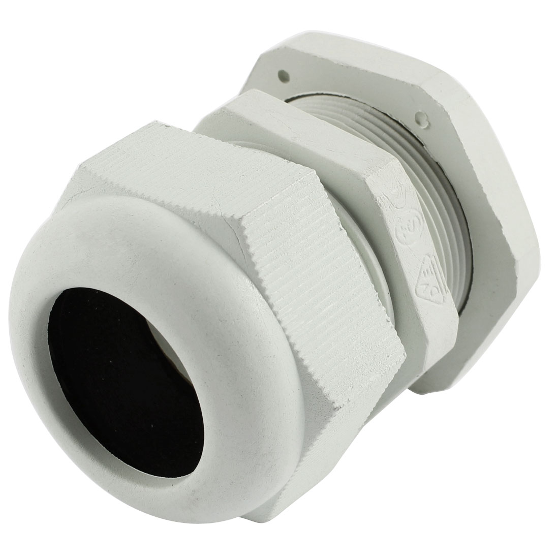White Plastic PG29 18-25mm Wire Connector Waterproof Cable Gland