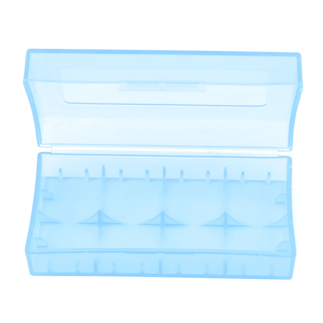 Hard Plastic Case Holder Storage Box Blue for 18650 16430 CR123A Battery