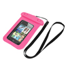 """Underwater Waterproof Case Dry Bag Cover Pouch Pink for 4"""" Cell Phone"""