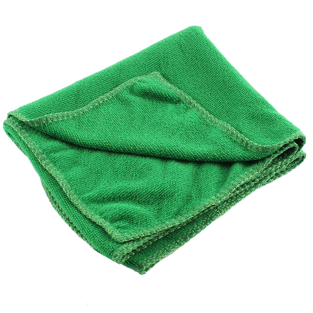 70cm x 30cm Green Microfiber Rectangle Absorbent Drying Bath Shower Facial Towel Sheet Facecloth Washcloth