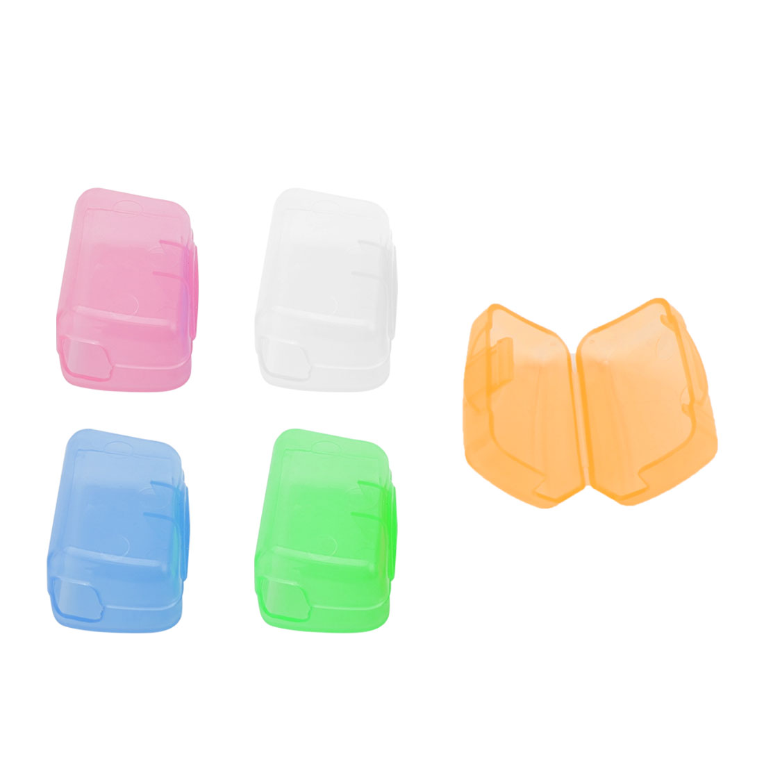 Portable Travel Toothbrush Head Cover Case Protective Caps Brush Cleaner Protector 5pcs