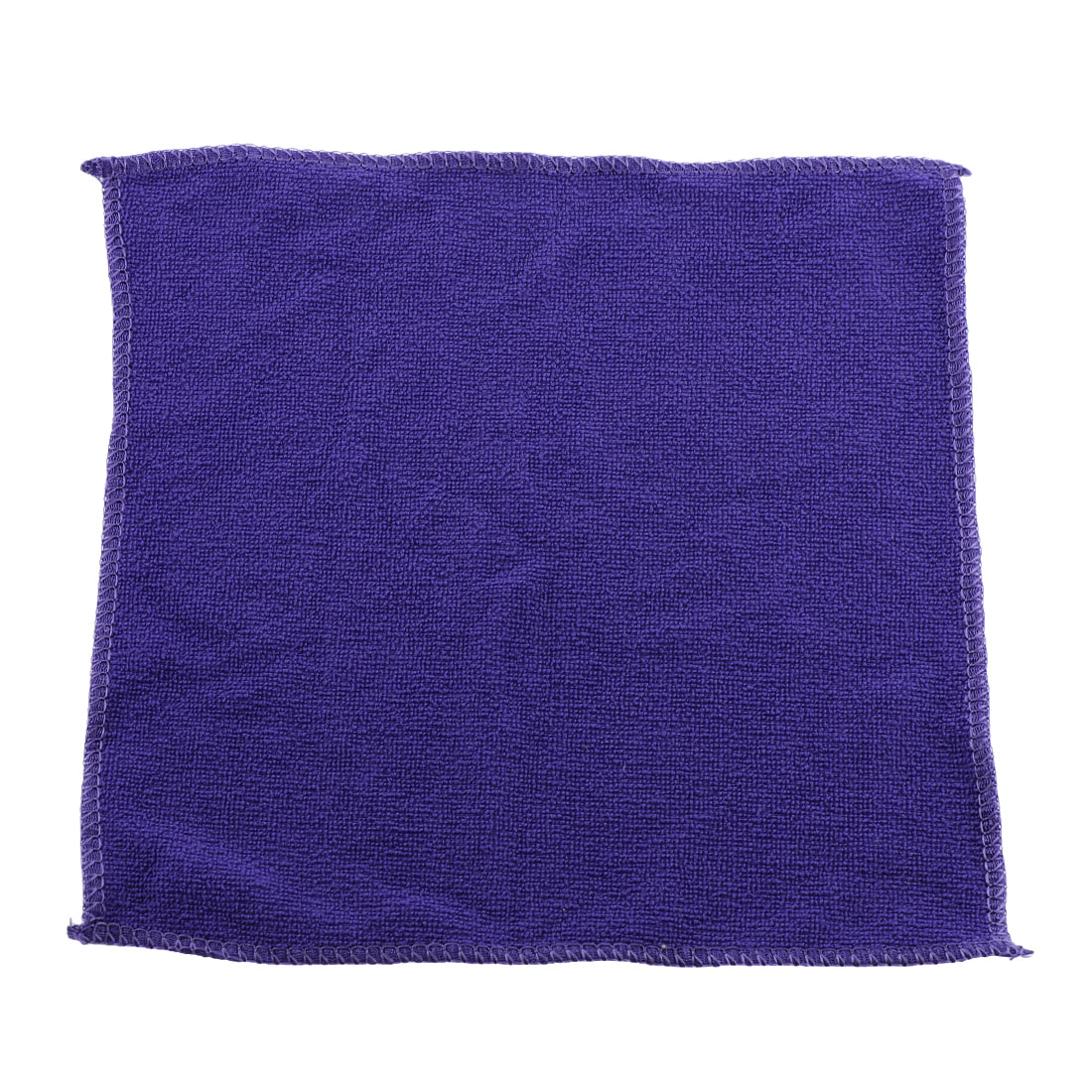 25cm x 25cm Purple Microfiber Water Absorbent Car Cleaning Drying Towels Wash Clean Cloth