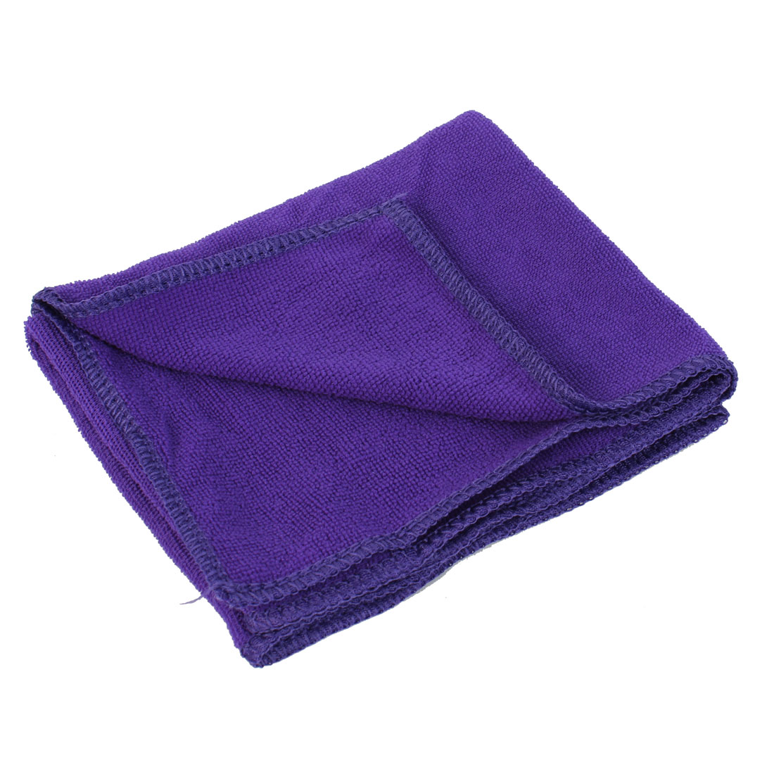 70cm x 30cm Purple Microfiber Water Absorbent Hand Drying Facial Bath Shower Towel Sheet Washcloth Swimwear