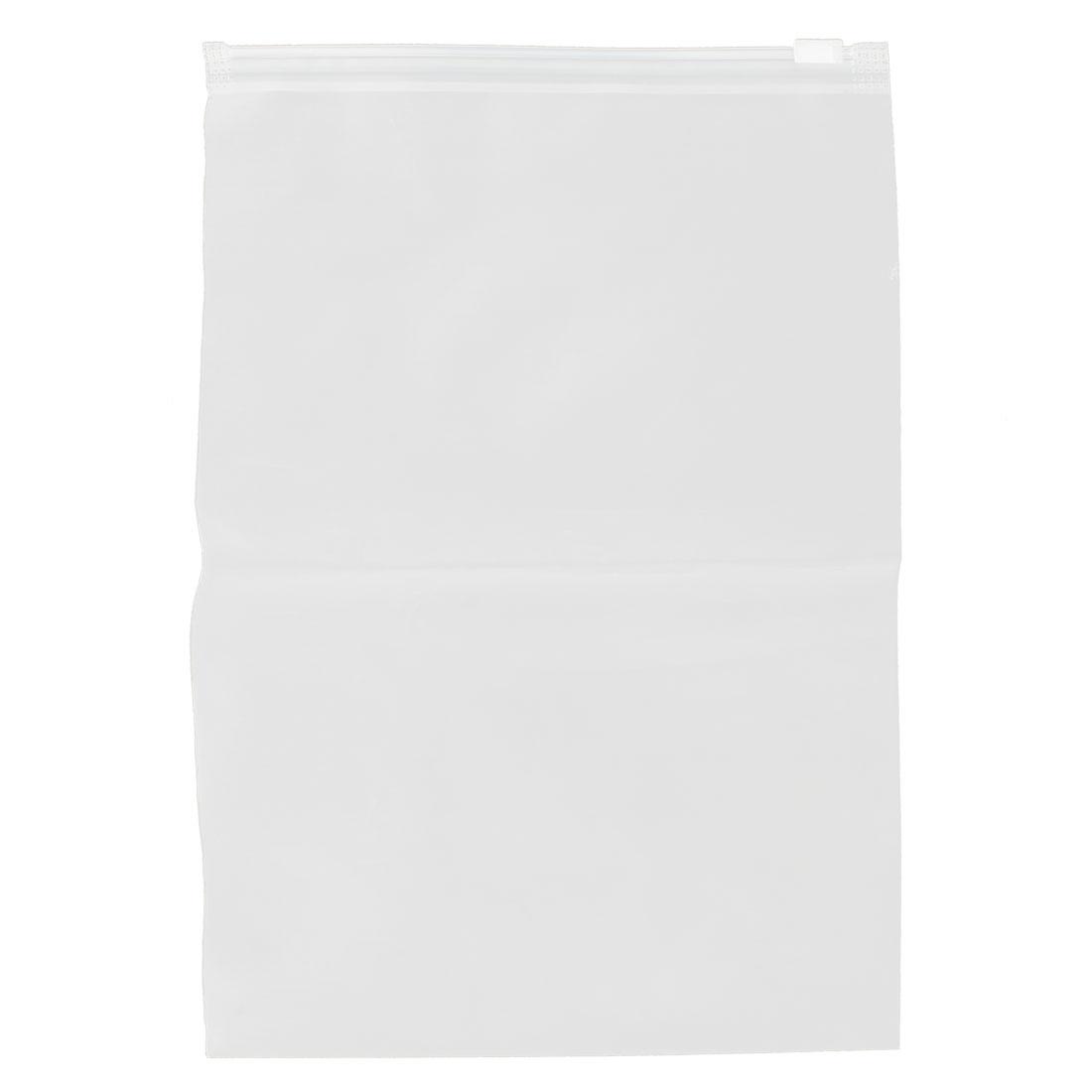 17cm x 25cm 20C Transparent Waterproof PVC Seal Storage Bag Travel Luggage Suitcase Cloths Cover Holder
