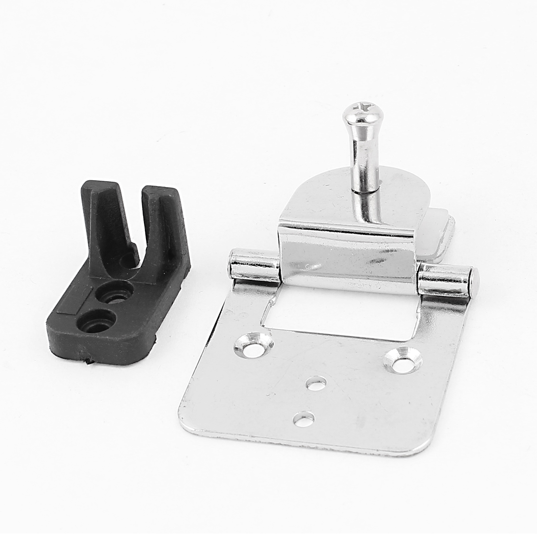 Bathroom Shower Stainless Steel Shelf Support Clamp Clip Door Hinge for 8mm Thickness Glass