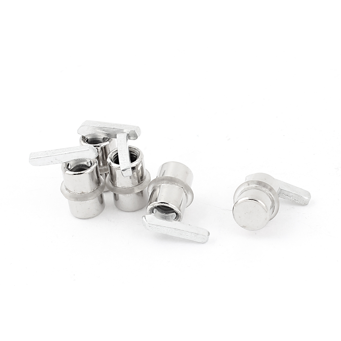 Kitchen Cabinet Glass Shelf Support Pins Studs Pegs 5pcs for 10mm Dia Hole