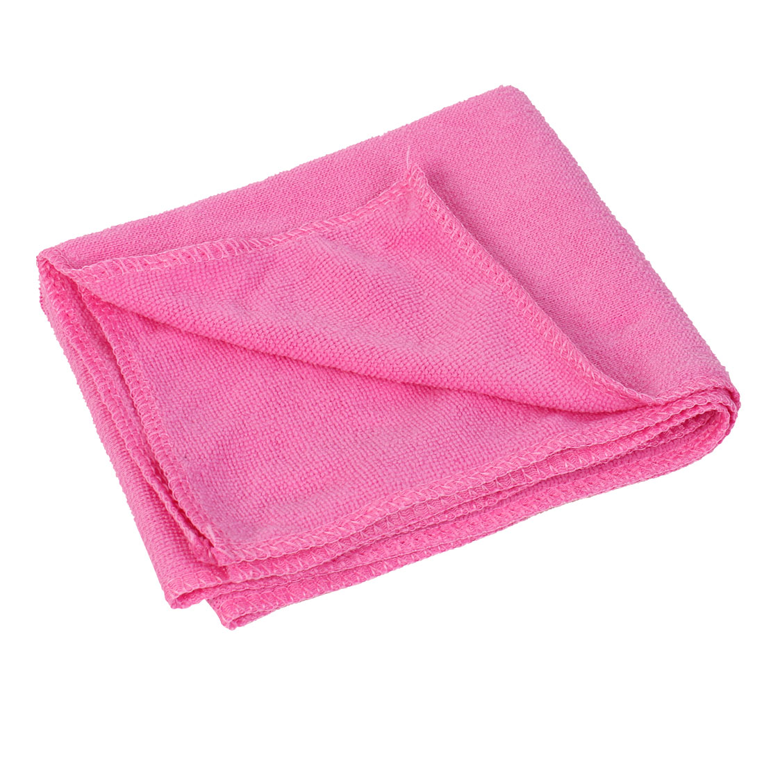 70cm x 30cm Fuchsia Microfiber Water Absorbent Hand Drying Face Bath Shower Towel Washcloth Cleaning Cloth