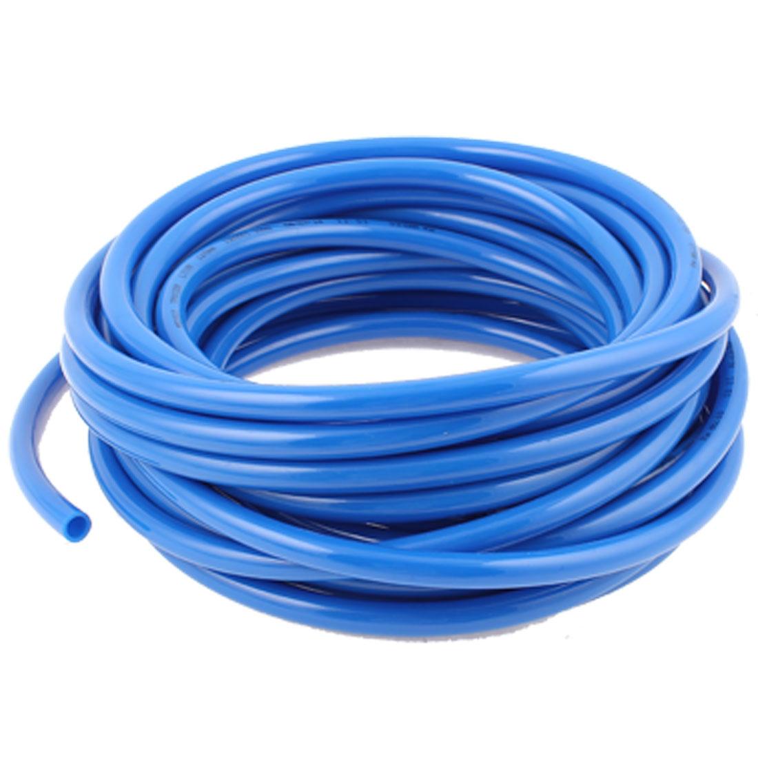 8mm x 12mm Fleaxible PU Tube Pneumatic Polyurethane Hose Blue 13M Length