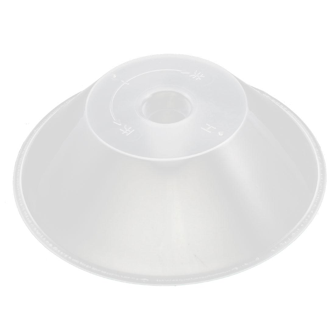 Kitchen Plastic Clear Round Design Lampblack Machine Oil Cup