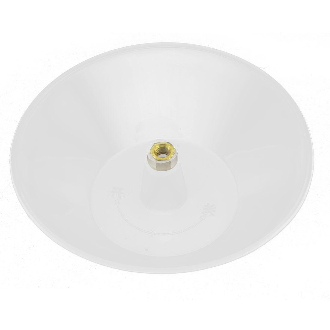Kitchen Plastic Clear Round Shape Lampblack Machine Oil Cup