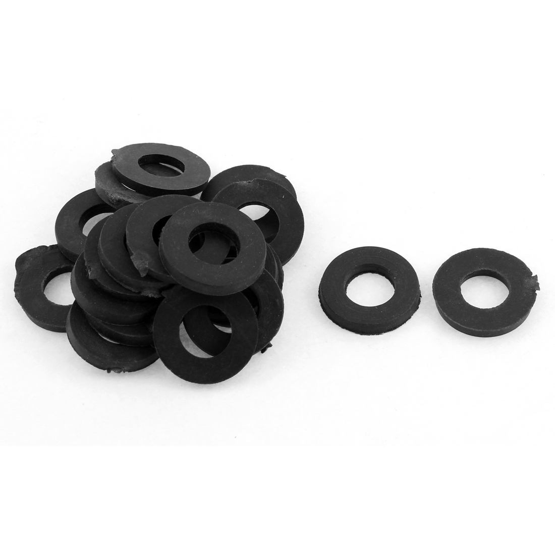 20PCS 19x10x3mm Black Rubber O Ring Seal Water Pipe Gasket Tube Hose Connector Sealing
