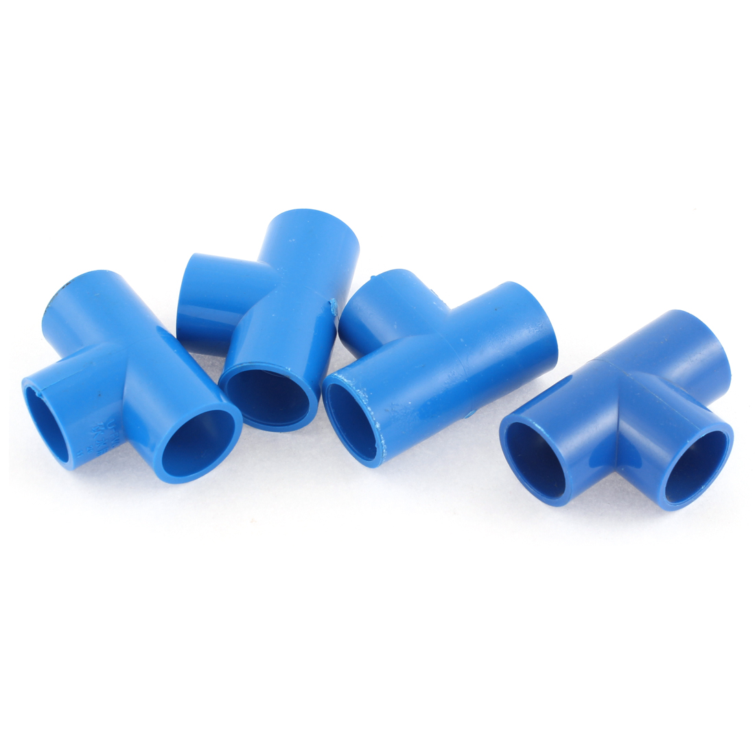 4PCS 20mm to 20mm T-shaped 3 Way Drinking Water Tube Pipe Fitting Coupler Connector Adapter Kitchen Bathroom