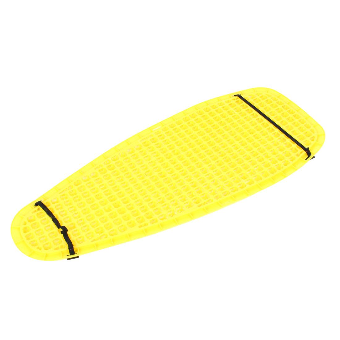 Motorcycle Motorbike Sunscreen Yellow Plastic Bulge Type Seat Cushion