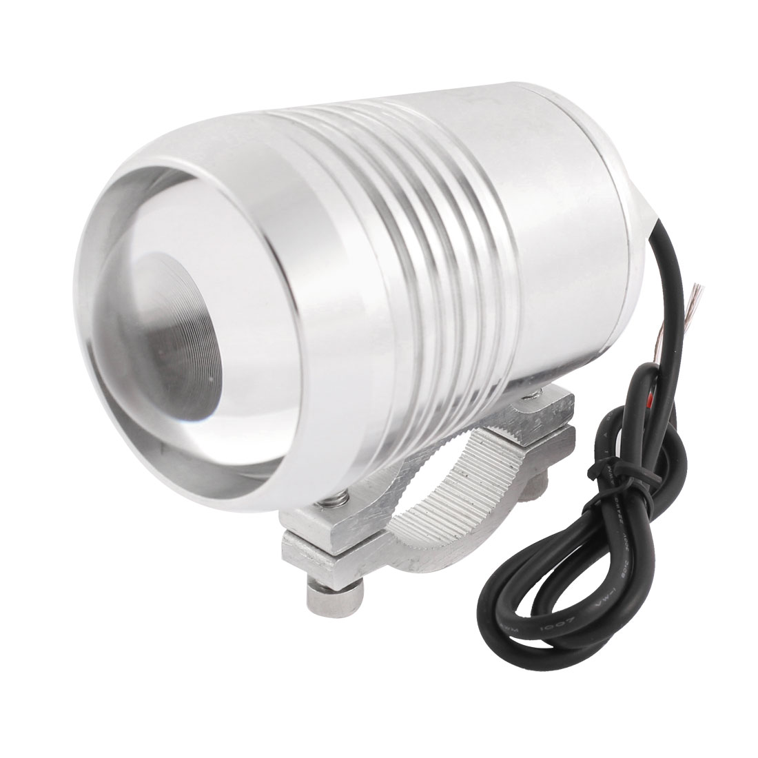 Motorcycle Silver Tone Shell White COD Decorative Spot Light 9W-12W